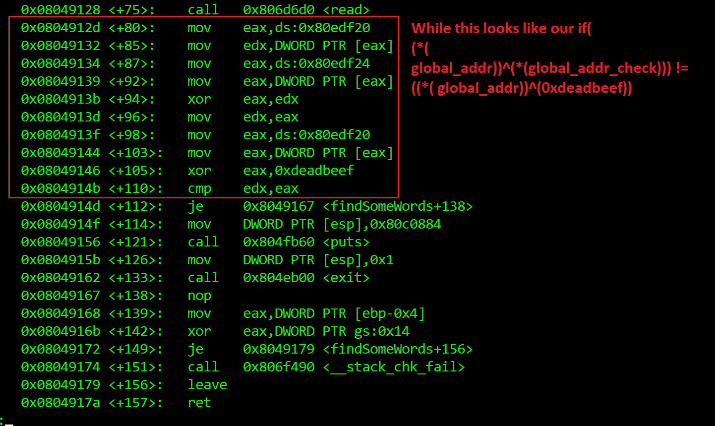 Stack-canary (ROP), format string leak plus how I learned